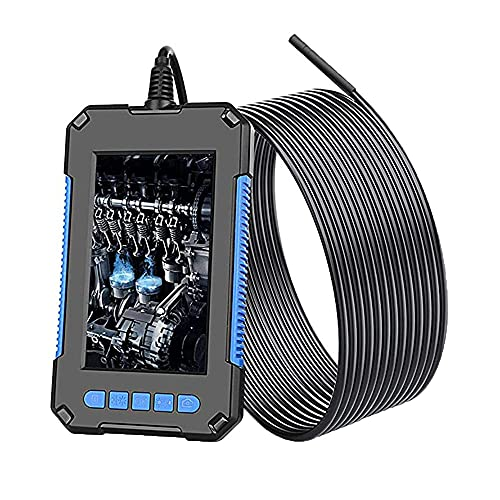 Cámara de inspección de endoscopio Industrial con 6 Luces LED Ajustables,2M