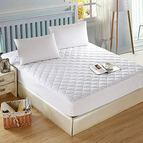 NIGHTS EXTRA DEEP QUILTED MATRESS MATTRESS PROTECTOR FITTED BED COVER (COT BED 70 X 140CM)