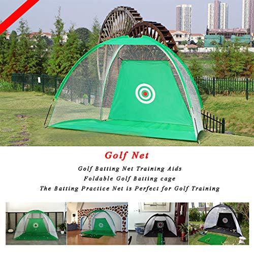 WUTONG Golf Goal Practice Net Goal Net Golf Ring Cut Net Portable Golf...
