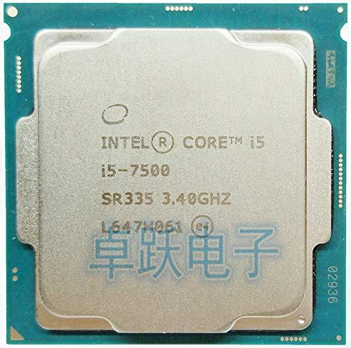 Processor i5 7500 Quad Core LGA 1151 3.4GHz 65W 14nm Desktop CPU