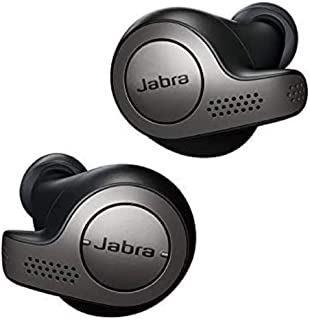 Jabra 100-99000000-40 Elite 65t Earbuds - Passive Noise Cancelling Bluetooth Earphones with Four-Microphone Technology for...
