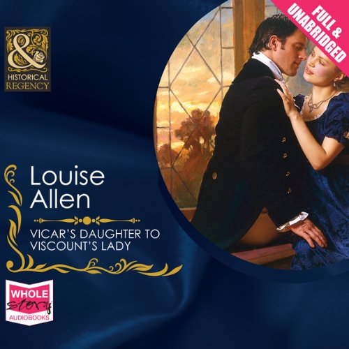 Vicar's Daughter to Viscount's Lady audiobook cover art