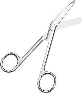 Healifty Tijeras de enfermería Tijeras de vendaje Tijeras quirúrgicas de primeros auxilios de acero inoxidable 14 cm para uso médico en el hogar