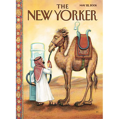 The New Yorker (May 22, 2006) cover art