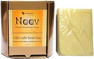 手作り アーユルヴェーダ ニーブ ひょっこり(ヘチマ) スクラブ ソープ 100g NEEV GILKI LUFFA SCRUB SOAP