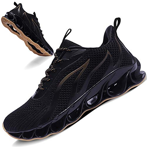 TIAMOU Men Running Sport Sneakers Athletic Walking...