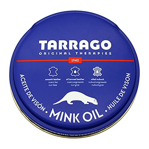 [タラゴ] 革を柔軟にし防水効果を高める ミンクオイル 100ml 靴磨き ジャケット バッグ アウトドアー ラ...