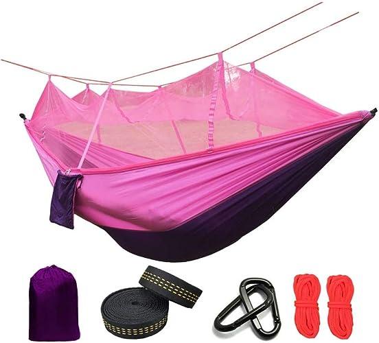ZWDM Hamac Parachute moustiquaire Ultra-léger et Tente de Camping en Plein air Anti-moustiques pour Dormir
