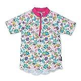 Sterntaler Mädchen Kurzarm-Schwimmshirt, UV-Schutz 50+, Alter: 3 - 4 Jahre, Größe: 98/104, Farbe: Weiß