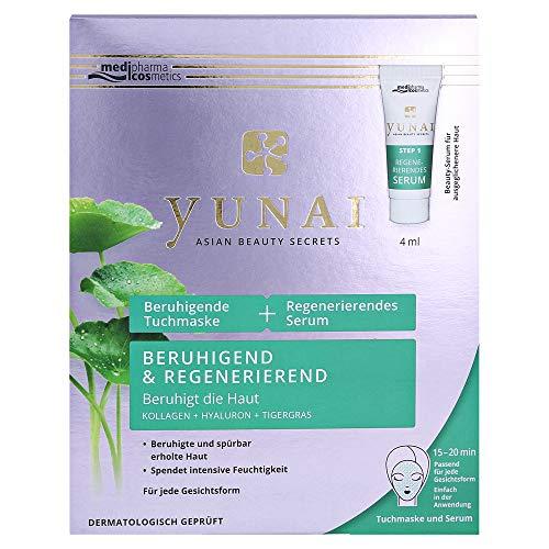 Medipharma Cosmetics Yunai beruhigende Tuchmaske, 4 ml