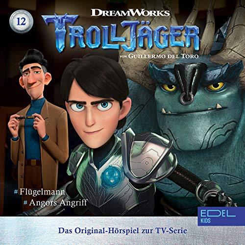Flügelmann / Angors Angriff. Das Original-Hörspiel zur TV-Serie Titelbild