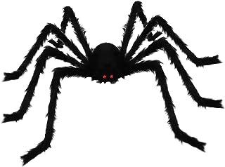 Wishstar Gigantische harige spin, horror, Halloween, themafeest