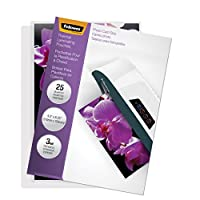 Fellowes Laminating Pouches, Thermal, Photo Size, 3 Mil, (5208301) by Fellowes