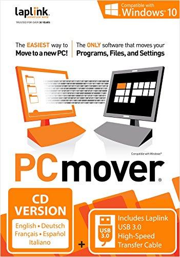 Laplink PCmover 10 mit SuperSpeed-Kabel USB 3.0 (Nutzung für 1 PC)