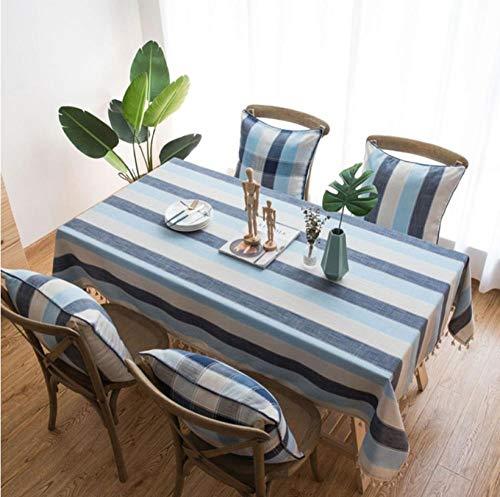 ggzgyz Jardín Raya Impermeable Mantel de Cocina Mantel Manteles rectangulares Mesa de Comedor Cubierta de repisa