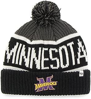 '47 Brand Calgary Cuff Beanie Hat with POM POM - NCAA Cuffed Knit Cap