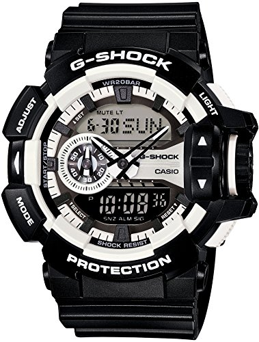 Casio G-Shock GA-400-1A Multi-Dimensional Analog Digital Watch