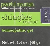 海外直送品 Peaceful Mountain Shingles Rescue Plus, 1.4 Oz