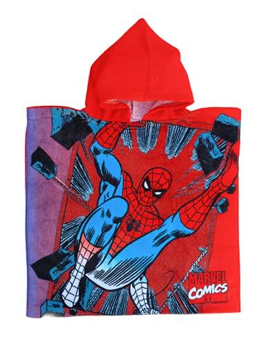 Poncho Ellepi para la playa o la piscina, albornoz con capucha para bebé de Disney Minnie Mouse (Spiderman)