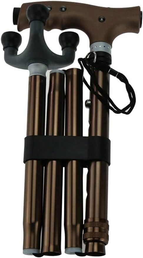 Walking Stick Portable Collapsible Trekking Poles Shock Fol San Antonio Mall Anti Popular product