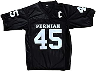 AIFFEE Men's #45 Permian Miles Football Jersey Black Color Size S-3XL