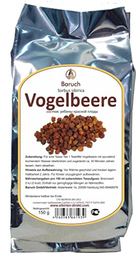 Vogelbeere - (Sorbus aucuparia, Sorbus sibirica, Eberesche, Vogelbeerbaum) - 150g