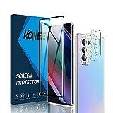 KONEE 1 Panzerglas Schutzfolie Kompatibel mit Oppo Find X3