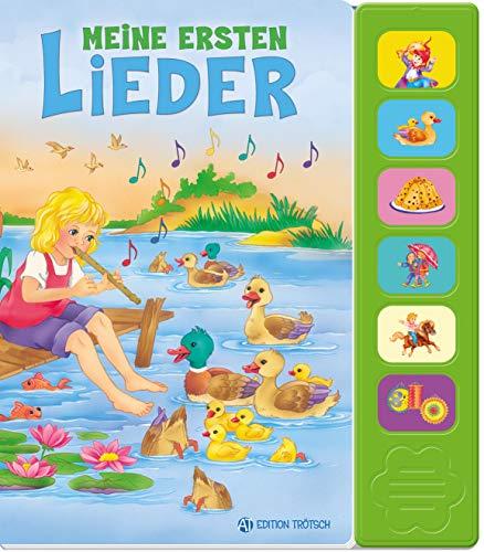 Trötsch Meine ersten Kinderlieder Beschäftigungsbuch Soundbuch Liederbuch Geräuschebuch (Soundbücher)