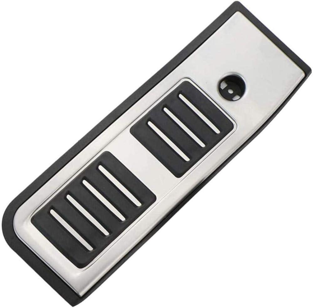 EQVUDJT Accesorios de Coche Pedales de pie de pie Patrones de Placa Pedal de autom/óviles For Ford Focus Fiesta Fiesta Mondeo Escape S-MAX C-MAX Footboard Point Tablero Antideslizante