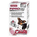Beaphar - FIPROtec Combo, pipettes anti-puces et anti-tiques - petit chien de 2 à 10kg - 3 pipettes