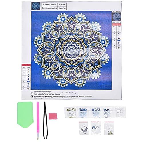 JYKFJ Arte de Diamantes para Adultos 5D, Kit de Taladro Completo de decoración de Pared, Kit de Pintura de Diamante 5D, Accesorios de Pintura para Dormitorio