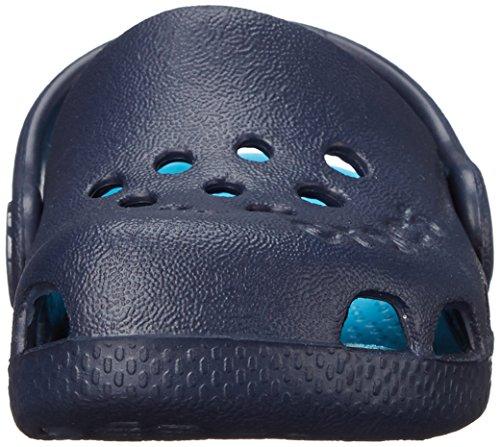 Crocs Kids' Electro Clog,Navy/Electric Blue,1 M US Little Kid