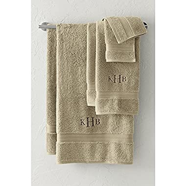 Lands' End Supima Towel 6-piece Set, Desert Khaki
