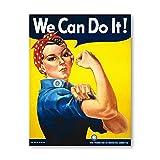 Wir können es schaffen! Rosie the Riveter (Rosie the