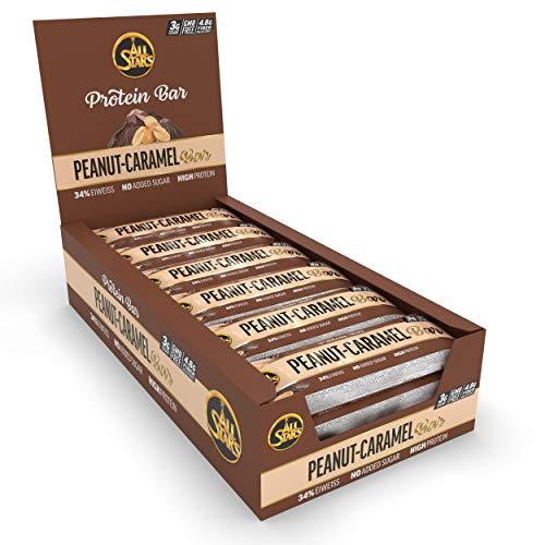 All Stars Protein Bar, Peanut-Caramel, 18er Pack (18 x 50 g)