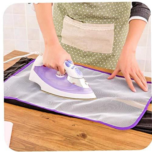 Amoyer Planchar la Ropa de Mesa Protector de Aislamiento Blanca Ropa de lavandería Pad Accesorios Poliéster Protector de Planchado