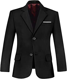 Plsily Boys Suit Blazer Formal Boy Suits Jacket