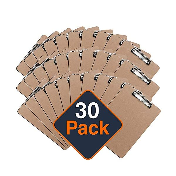 Low Profile A4 Clipboard Bulk Pack Office Solutions Direct