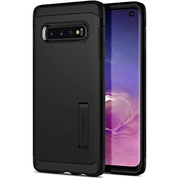 Spigen Tough Armor Designed for Samsung Galaxy S10 Case (2019) - Black