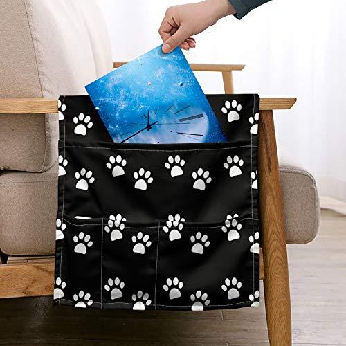 UOIMAG Organizador de sofá con diseño de patas de perro con forma de animal para guardar el sofá o el sofá con mando a distancia
