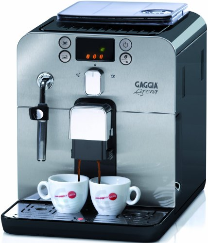 Gaggia RI9305/11 Brera Led Blk, Macchina per il caffè, 15 Bar, 1400 W