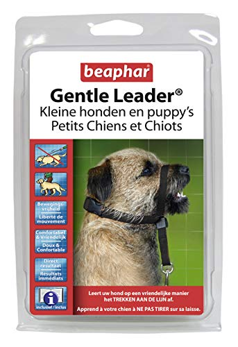 Beaphar Gentle Leader Hundehalfter, Größe S, schwarz