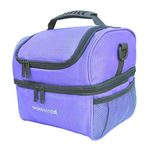 Large Insulated Travel Cooler for Medicine (Periwinkle)