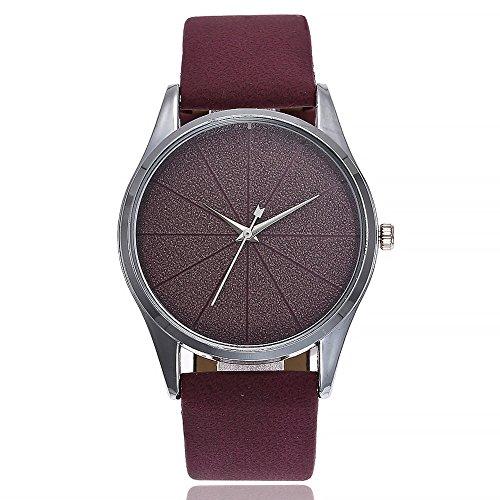 SoonerQuicker Uhr Armbanduhr Quartzuhr Frauen Uhren Mode Elegant Freizeit Armbanduhren Damenuhr Analoge Quarz Lederband Wasserdicht Billig Geschäft Geschenke 8