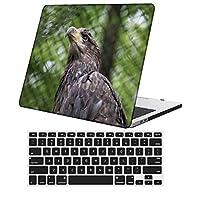 YixiuGG 切り抜きデザインプラスチック製ウルトラスリムライトハードケースキーボードカバー互換MacBook Pro13インチ2012-2015リリースRetinaディスプレイCDROM /タッチなし、モデルA1425 / A1502、フェザーシリーズ 0404