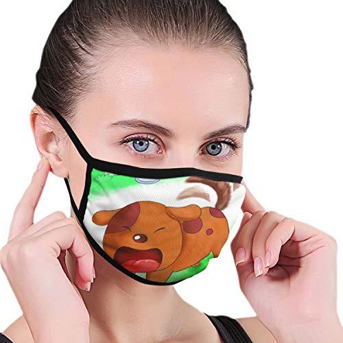 N/A Unisex-Mundstück für Erwachsene, waschbar, wiederverwendbar, Polyester, Anti-Staub-Maul in Packungen