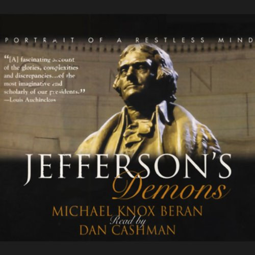Jefferson's Demons audiobook cover art