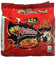 Samyang 2X Spicy Hot Chicken Flavor Ramen_KOREAN SPICY NOODLE (140g Each) (5 packs)