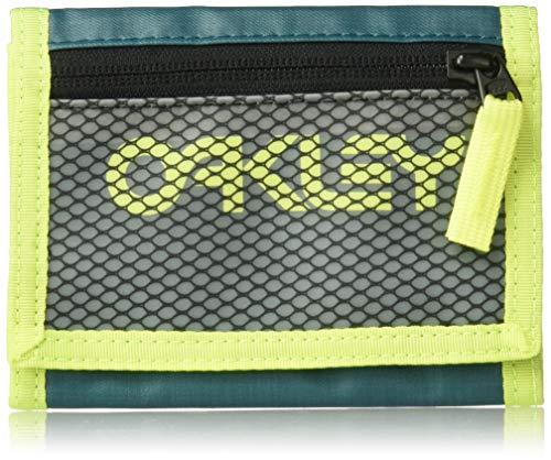 OAKLEY Herren 95154-9PE Reisezubehör- Dreifachgefaltete Brieftasche, Petrol, einheitsgröße