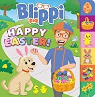 Blippi: Happy Easter! (Board Books with Tabs)